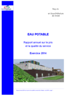 Rapport eau potable
